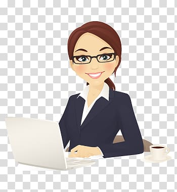 Administrative virtual secretary office. Support clipart admin assistant