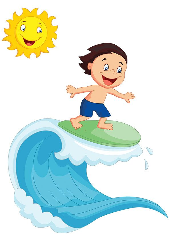 Surfing clipart. Szukaj w google dzieci
