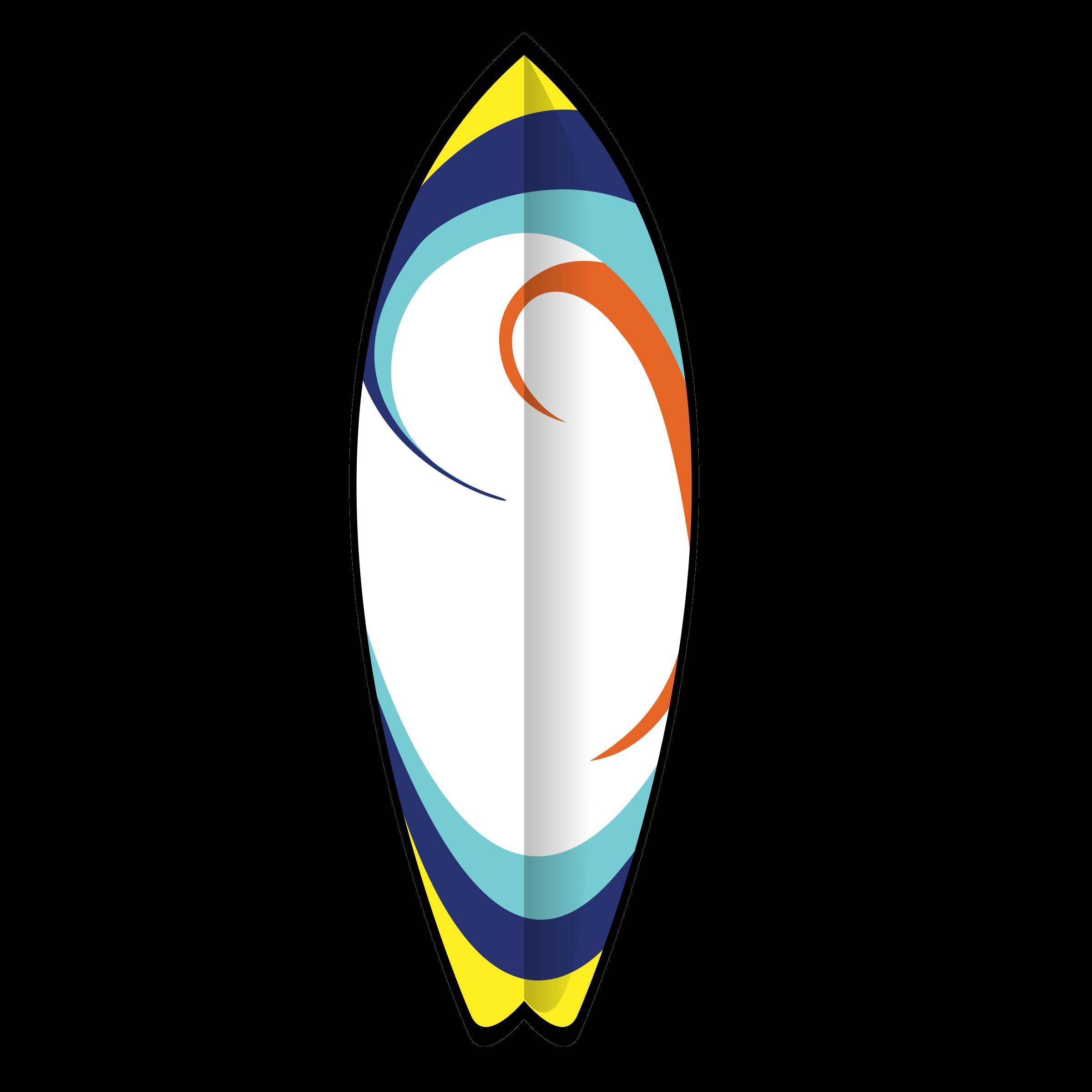 Clip art free panda. Green clipart surfboard