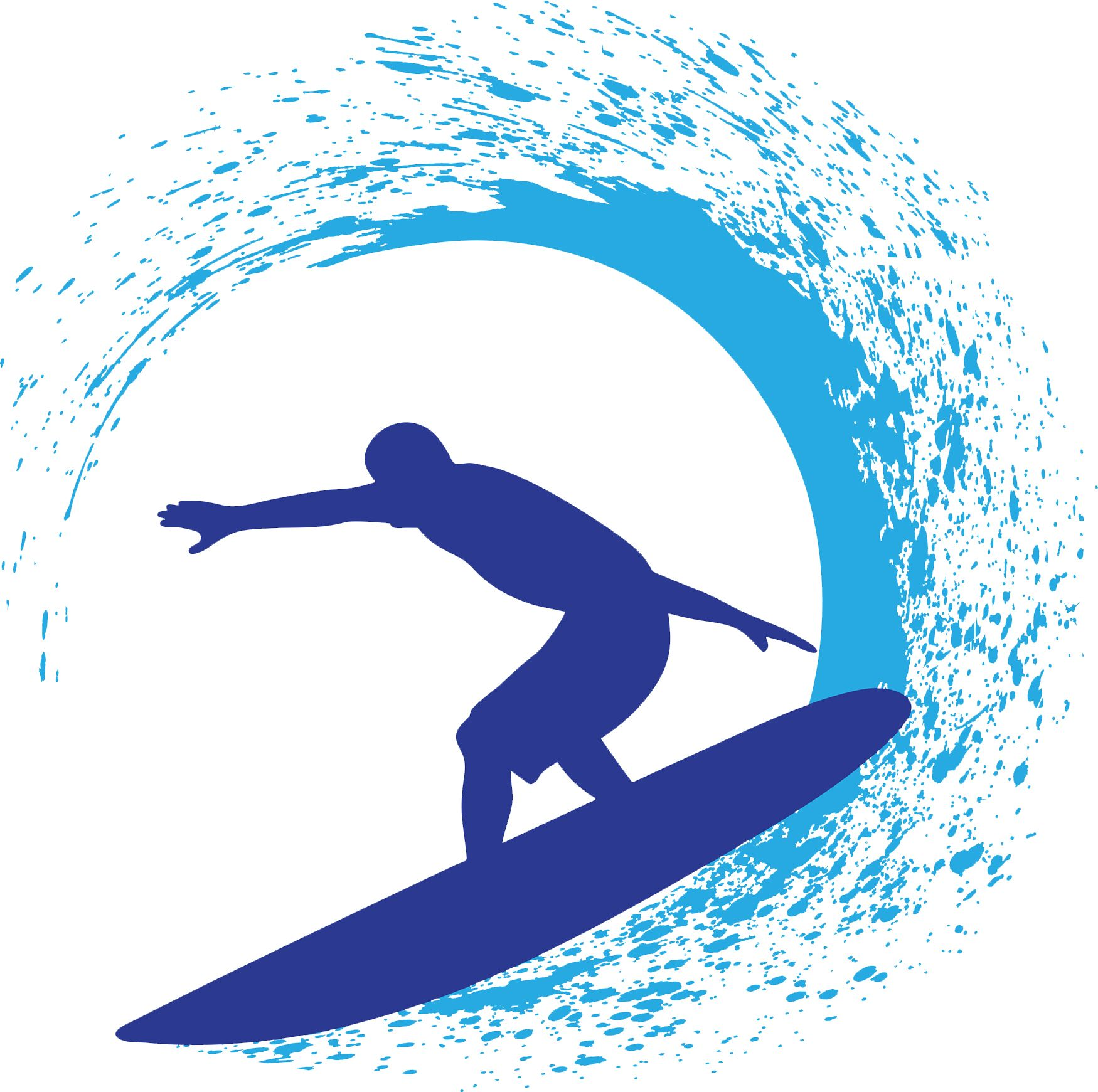 Create surfer designs using. Surfing clipart