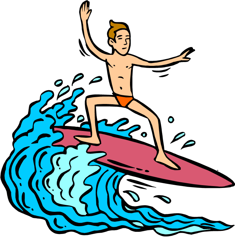 . Surfing clipart