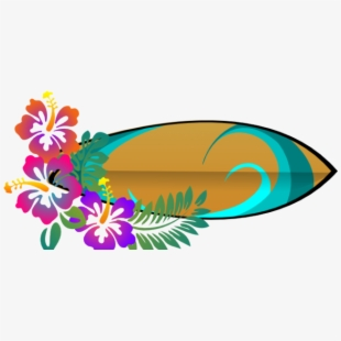 Free surfer cliparts silhouettes. Surfing clipart luau decoration
