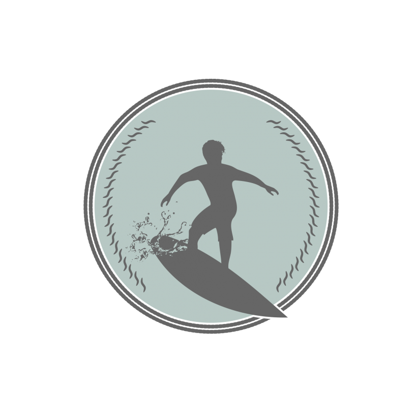 Waves clipart surfing. Logo elements tag logoobject