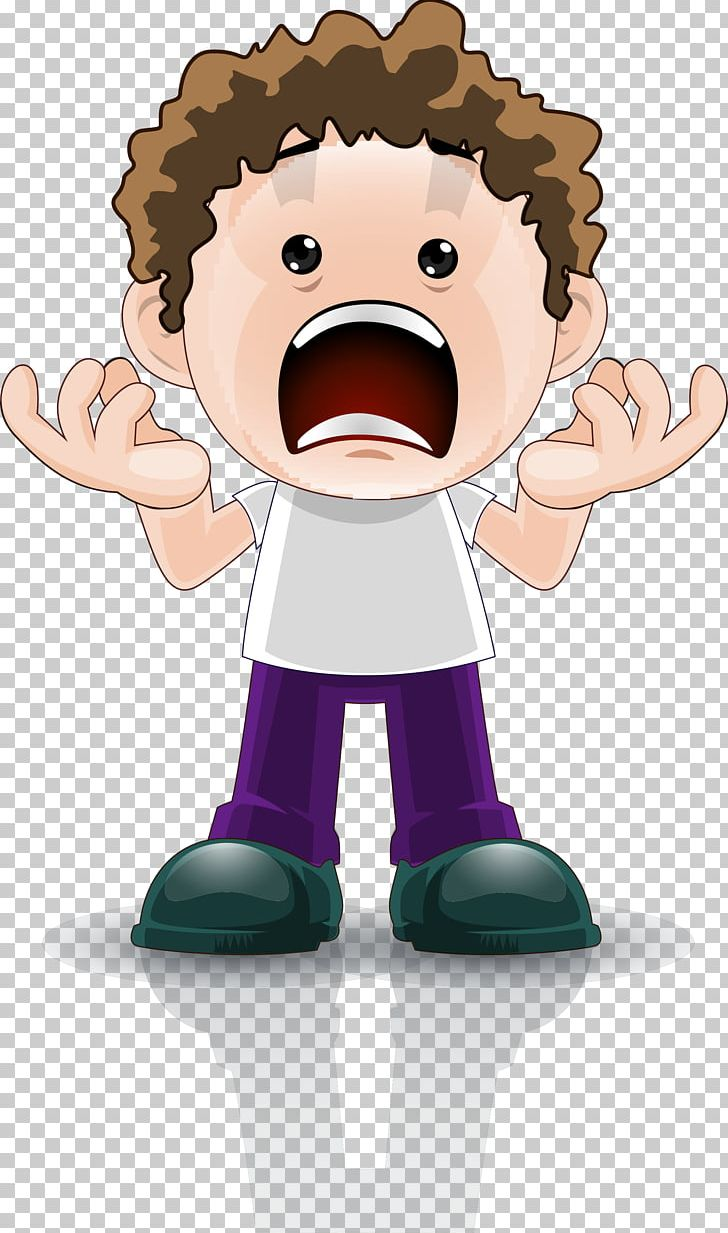 Cartoon png art boy. Surprise clipart animated