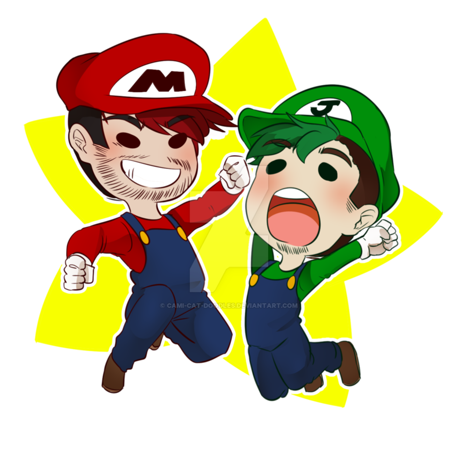 Mario gaming bros by. Yelling clipart outburst