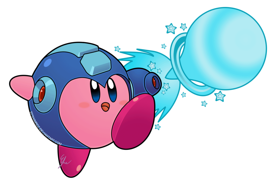 Surprise clipart awestruck. Kirby abilities extra mega