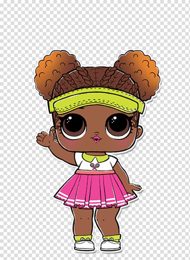Girl illustration l o. Surprise clipart big