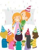 Party clip panda free. Surprise clipart birthday decor