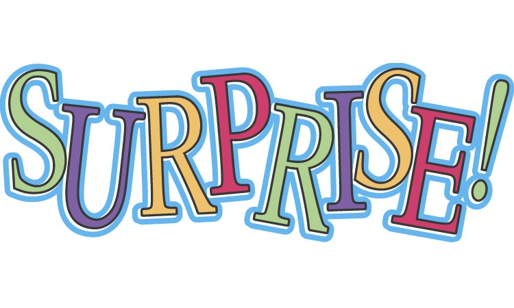 Surprise clipart birthday surprise.  clip art clipartlook
