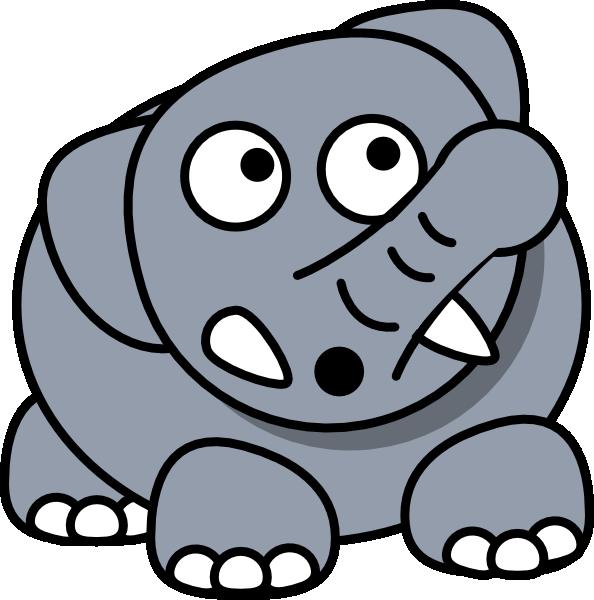 Elephant drop at clker. Surprise clipart clip art