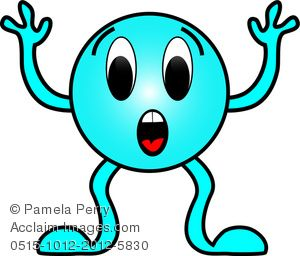 Surprise clipart emotion. Cartoon clip art image