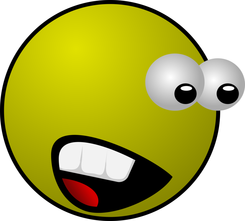 Emoticon smiley yellow png. Surprise clipart emotion
