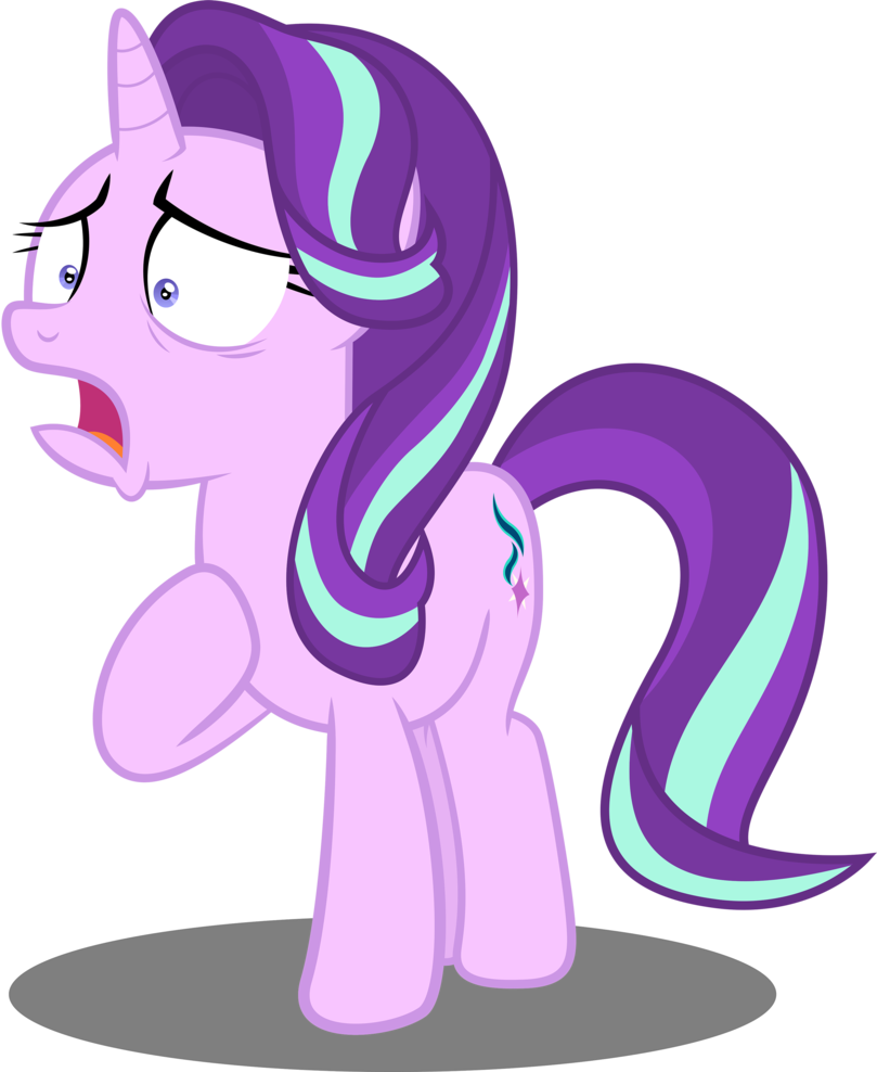 Surprise clipart horrified. Starlight glimmer is by