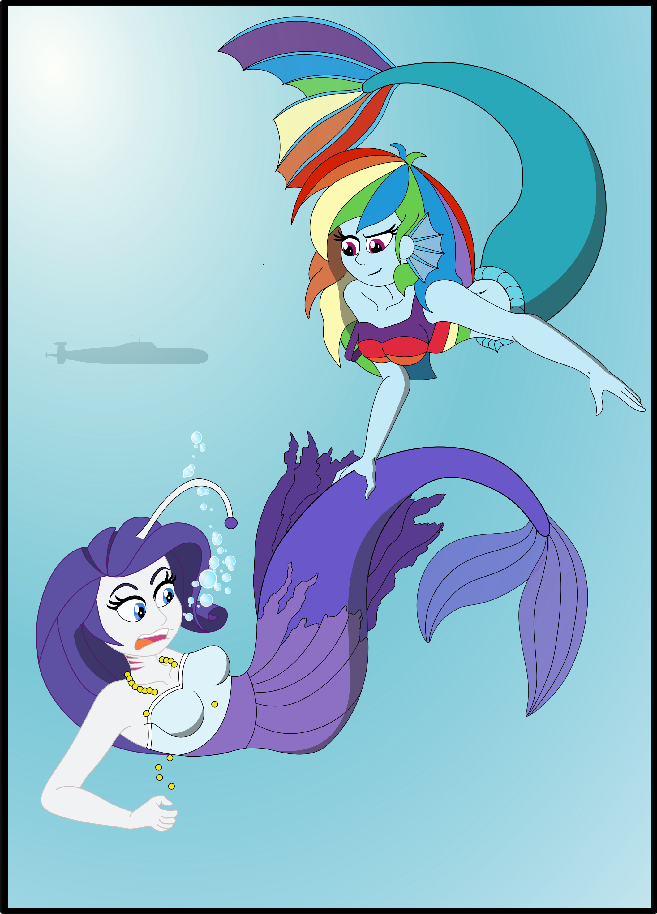 Welcome rarity mermaid by. Surprise clipart panic