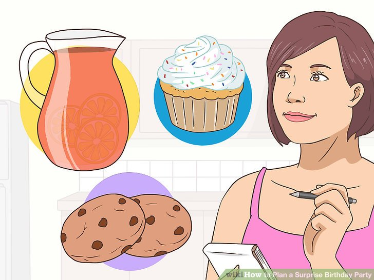 Surprise clipart party host. How to plan a
