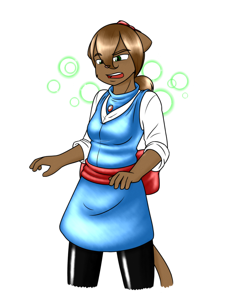 Felix outfit magical girl. Surprise clipart person surprised