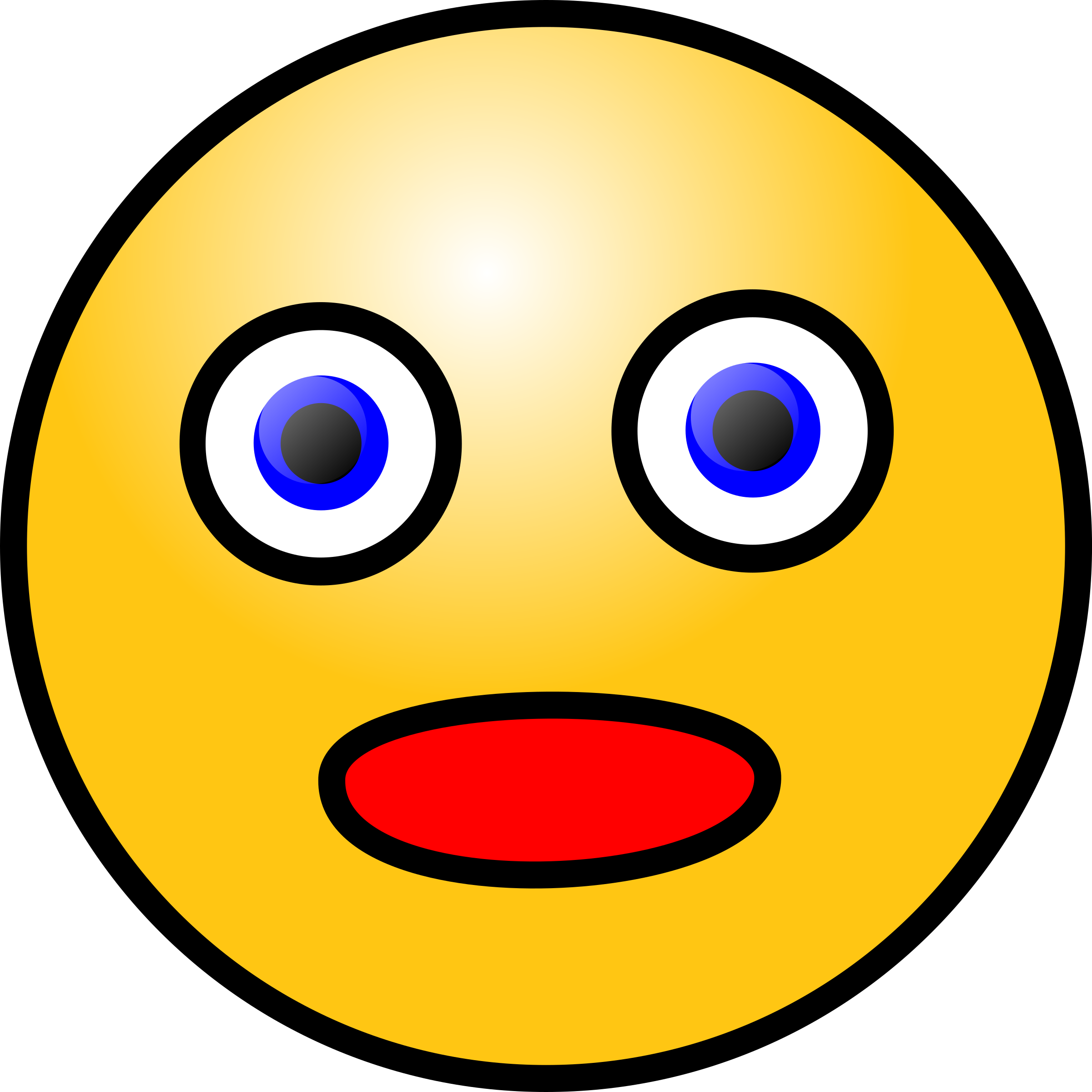 Surprise clipart smiley. Surprised female