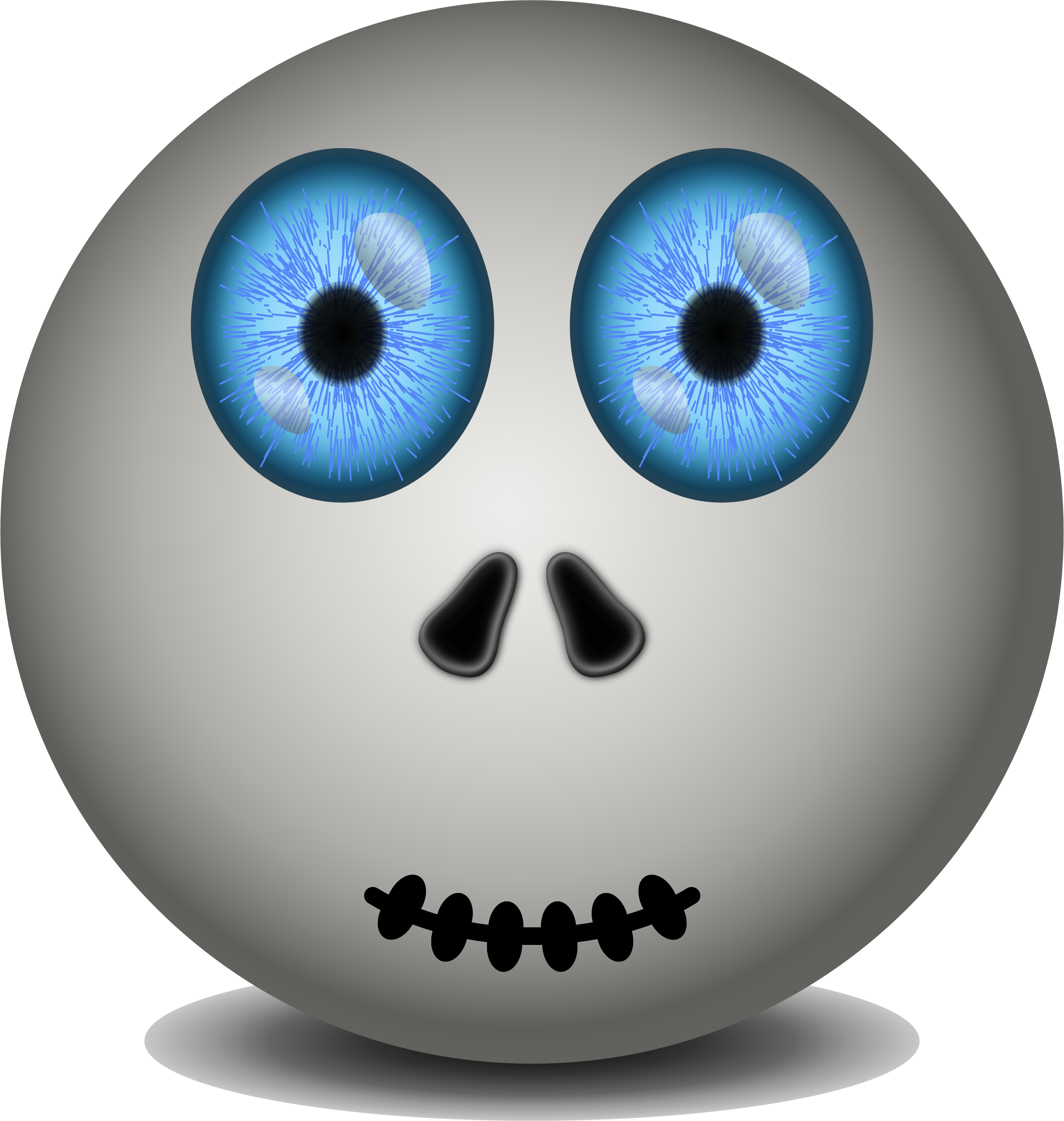Surprise clipart surprised emoticon. Face surprising remix big