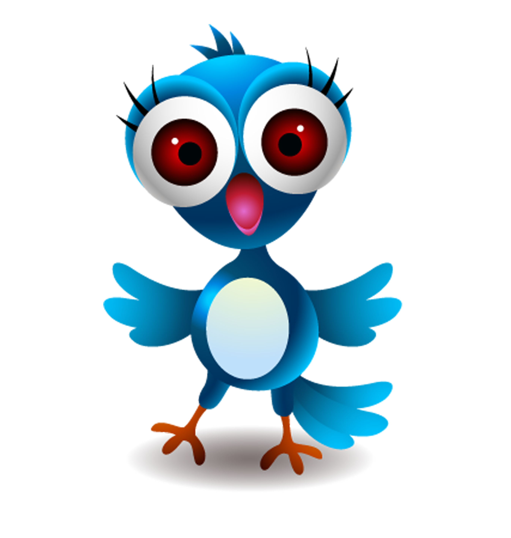 Surprise clipart surprised expression. Bird cartoon illustration chick