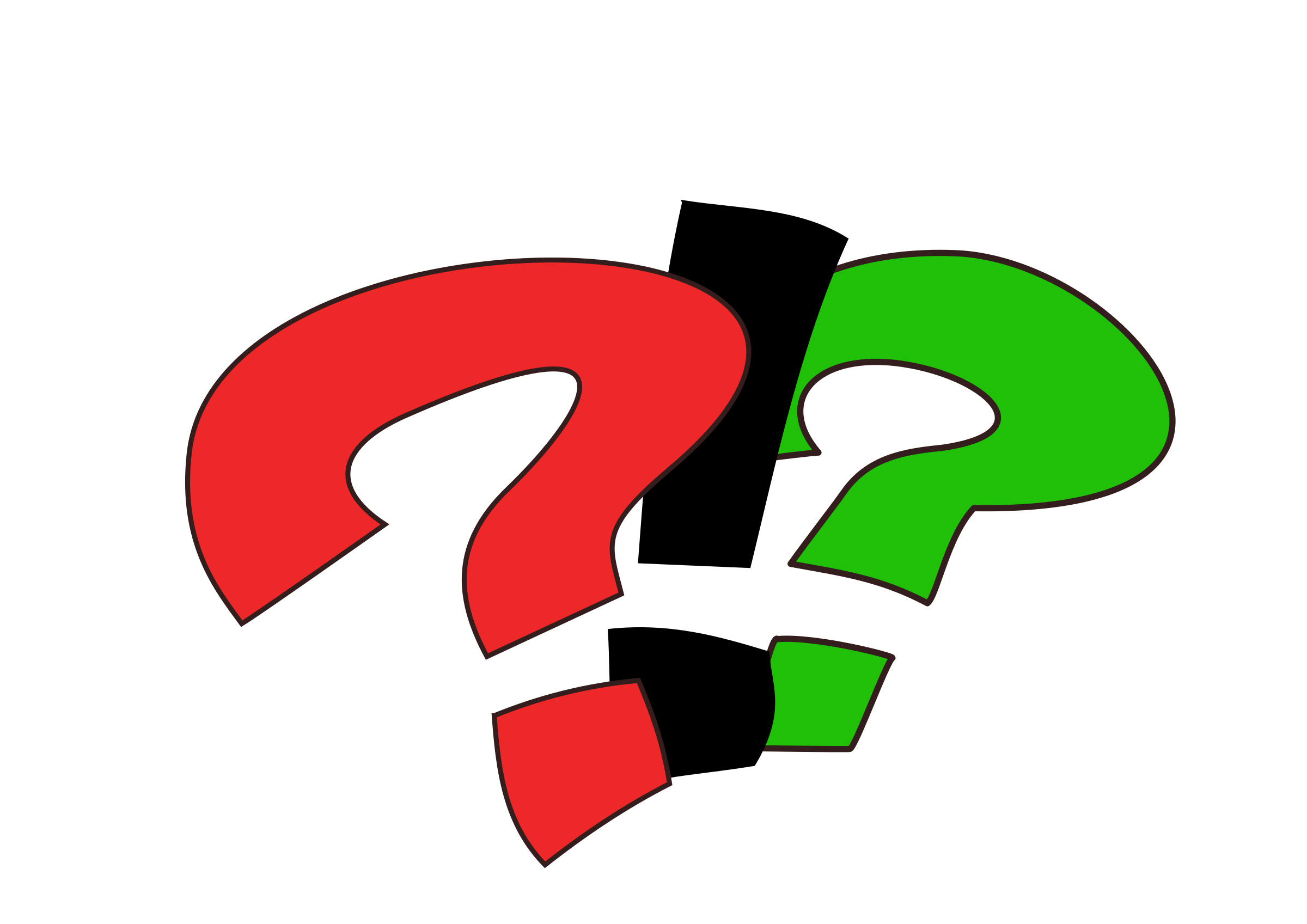Surprise clipart symbol. Interrogation big image png