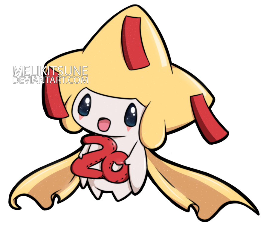 Surprise clipart work anniversary.  th shiny jirachi