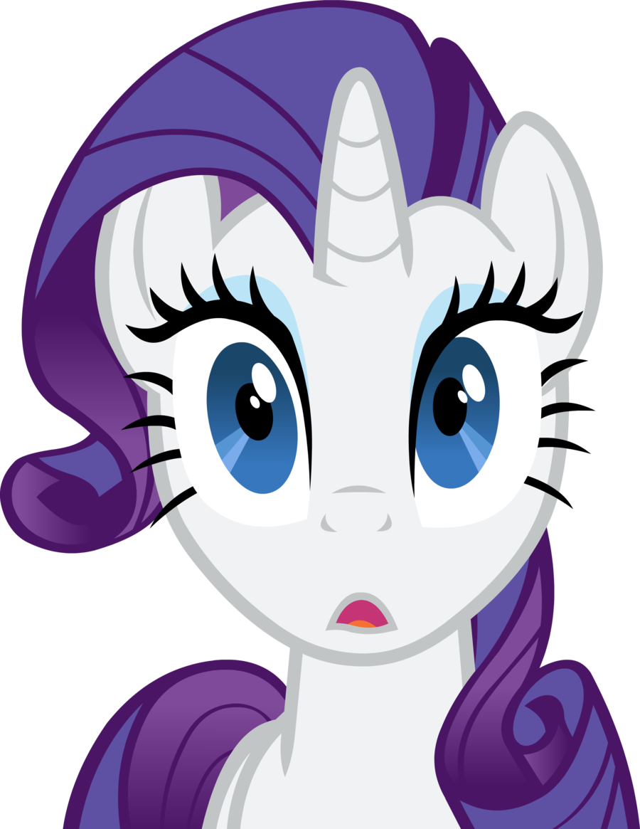 Surprise clipart worried face. Rarity surprised and twilightsparkle