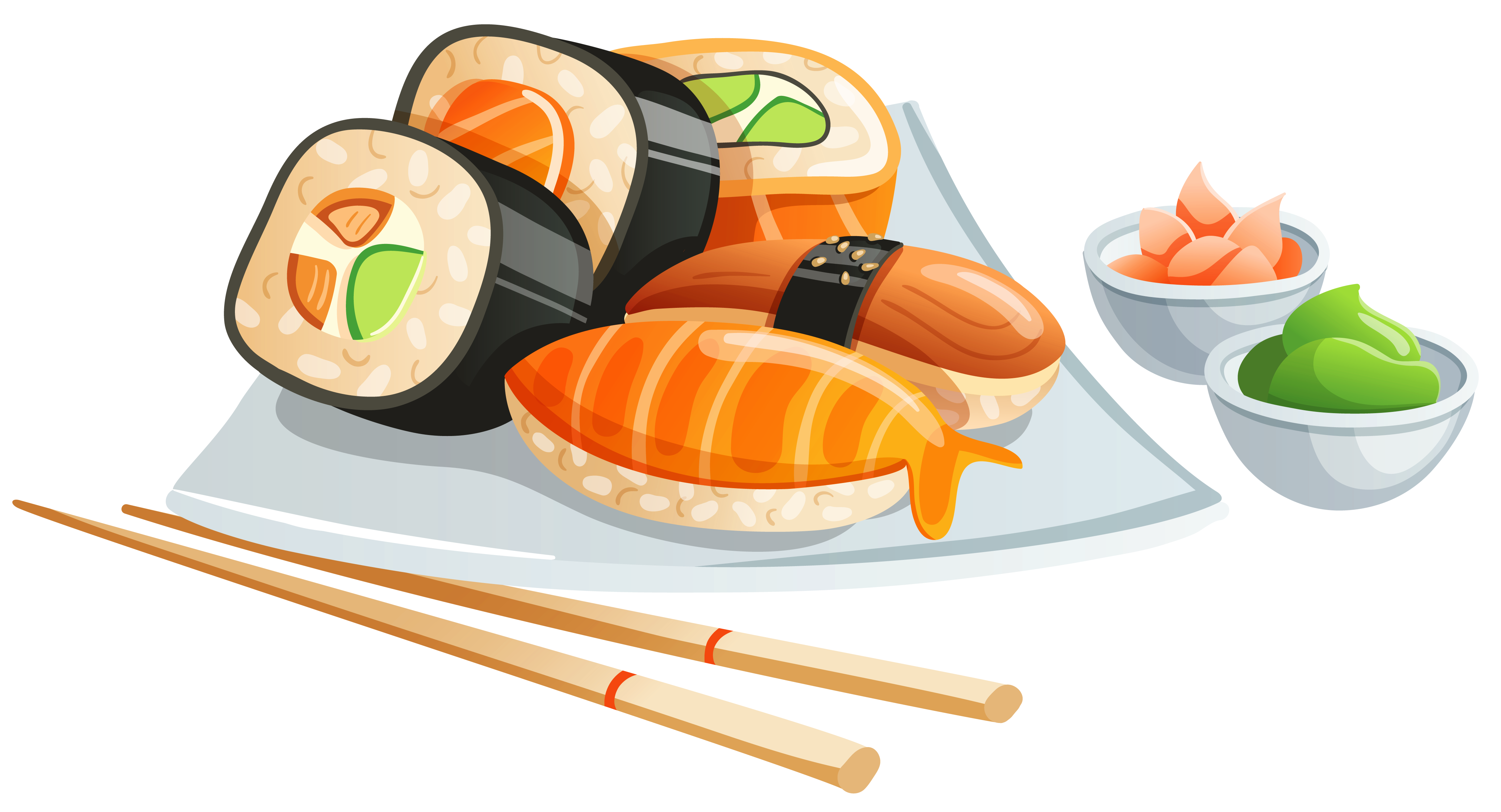 Sushi png image gallery. Clipart frame food