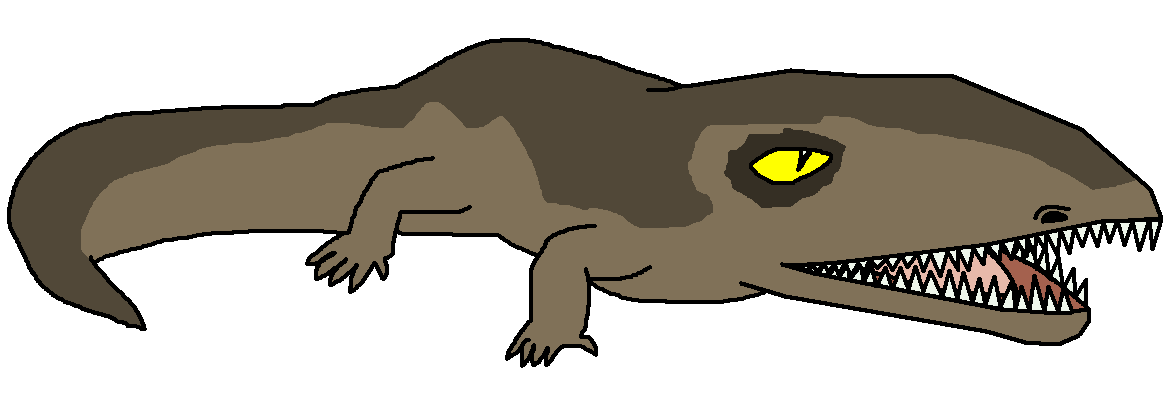 Swamp clipart dinosaur. Ichthyostega pedia wikia fandom