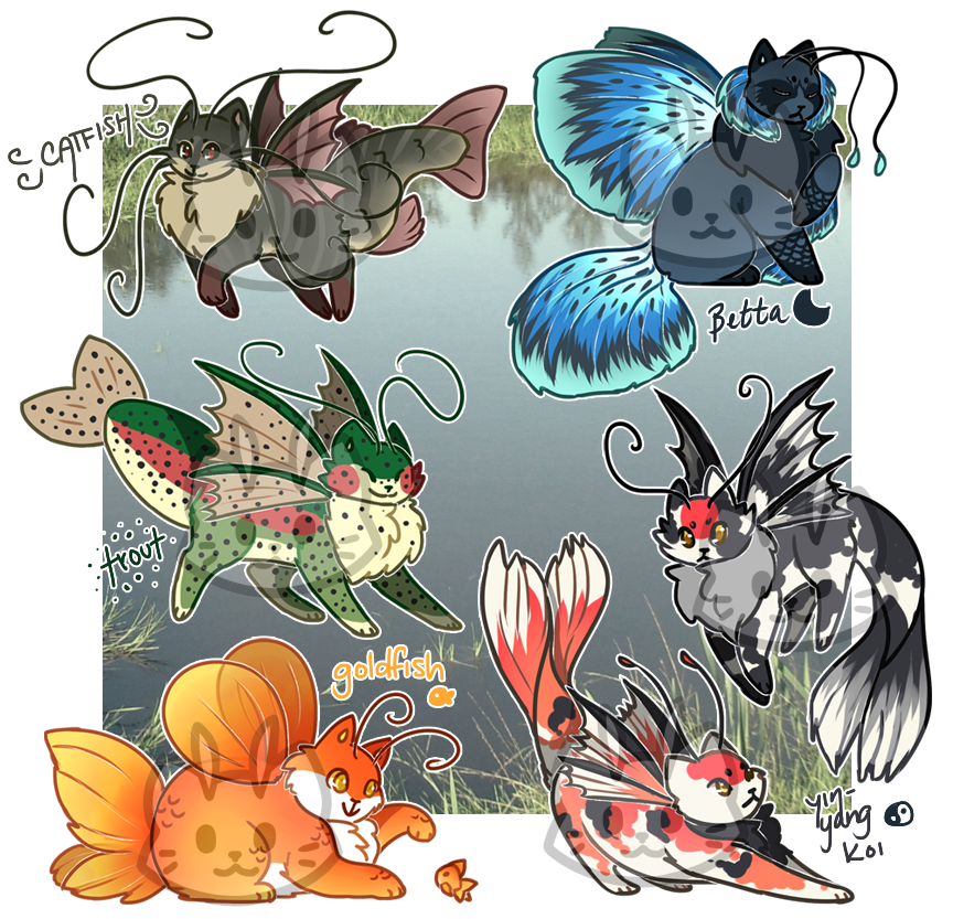 Swamp clipart freshwater. Mothcats auction closed by