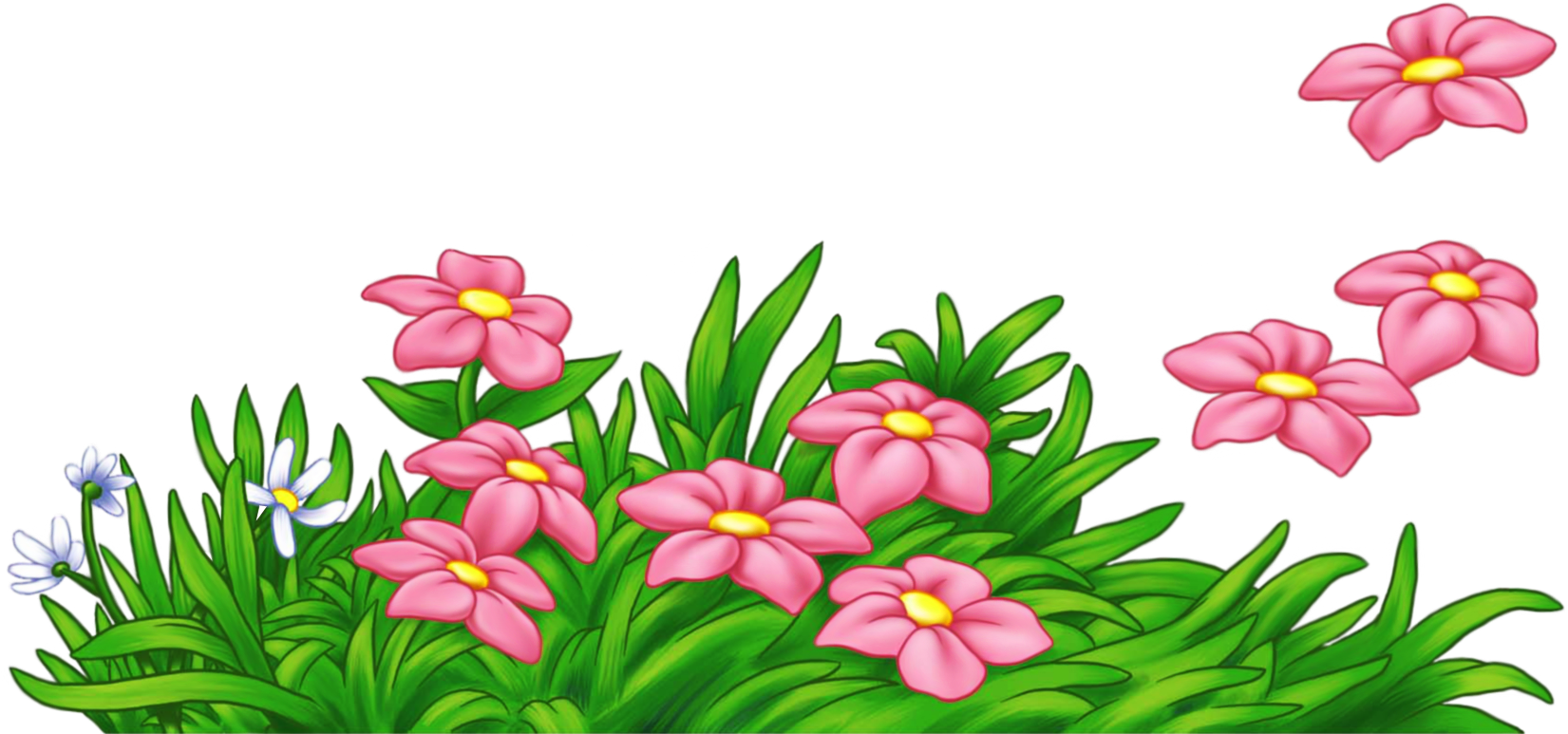 Swamp clipart pink grass. With flowers png cartoon