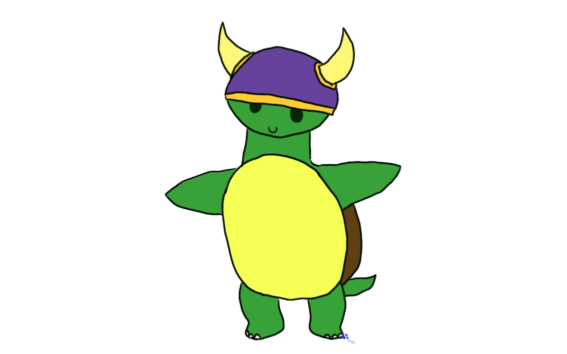 Swamp clipart turtle. Viking by fangs on