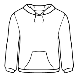 Design template acur lunamedia. Sweatshirt clipart
