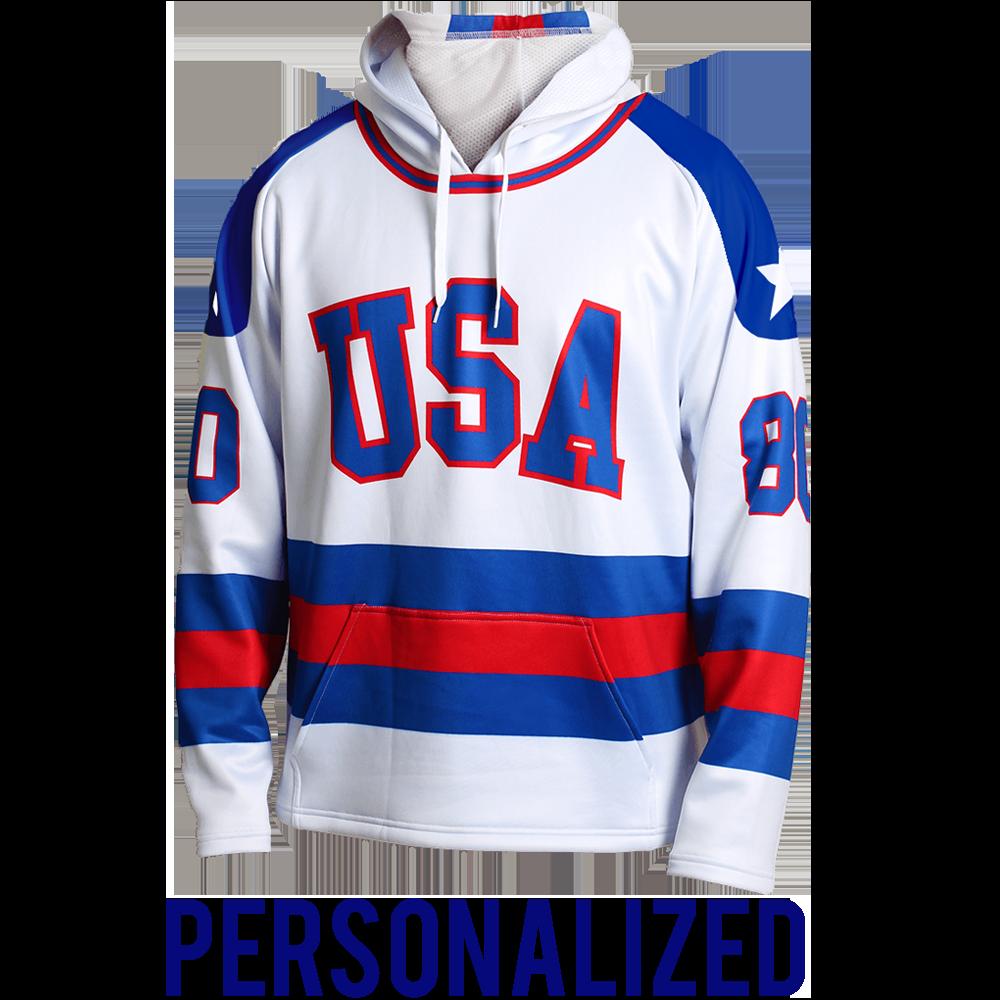 nhl jersey hoodie
