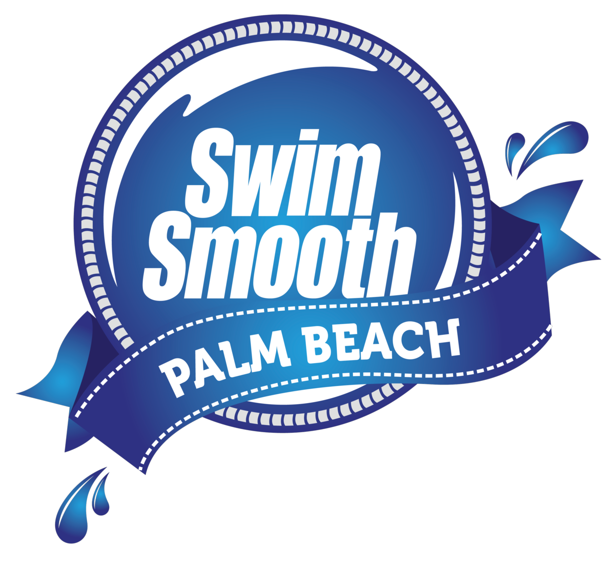 Palm masters swim smooth. Swimmer clipart beach swimming