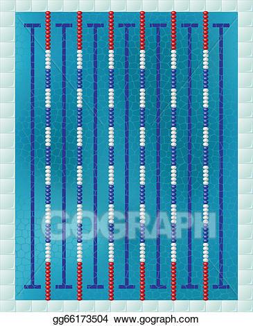 Swimmer clipart lap pool. Vector sport swimming illustration