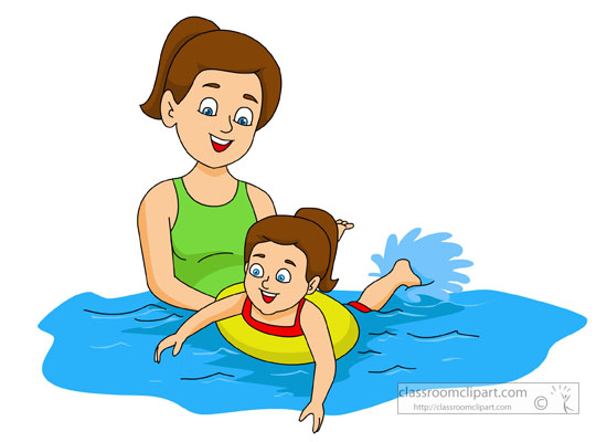 Swimmer clipart shallow. Picture