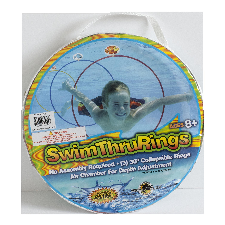 Swimsuit clipart swimming bag. Swim thru rings walmart