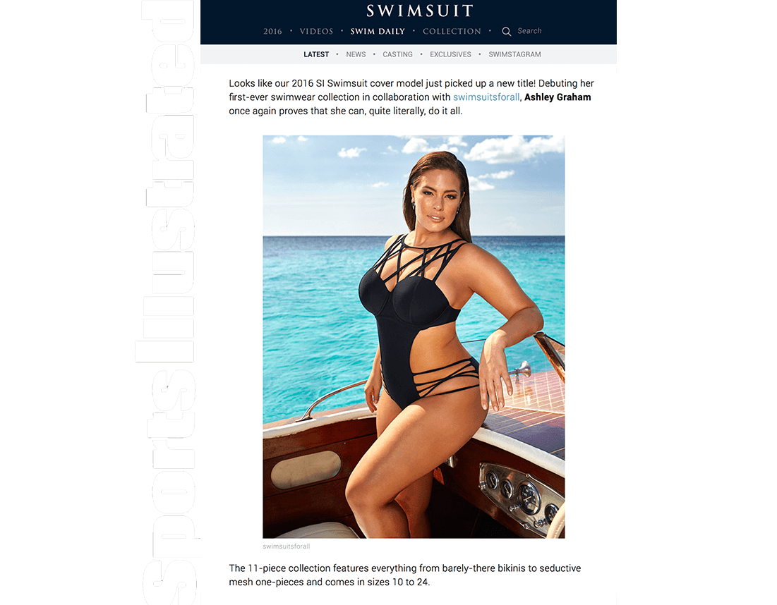 Ashley graham x swimsuitsforall. Swimsuit clipart bathing suit