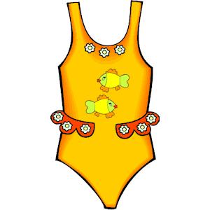 Beachwear cliparts zone . Swimsuit clipart beach wear