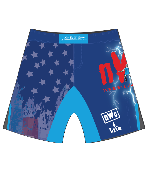 Swimsuit clipart blue shorts. Nwo combat wrestling club