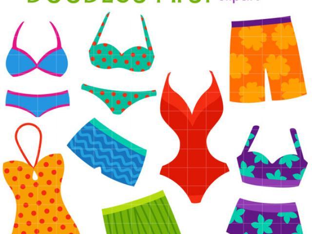 Free bikini download clip. Swimsuit clipart different