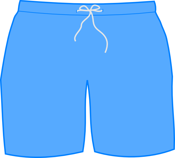 Swimsuit clipart football shorts. Swim png svg clip