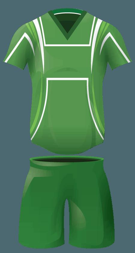 Custom sublimated kits team. Swimsuit clipart football shorts