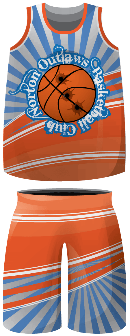 Floral design sublimated basketball. Swimsuit clipart football shorts