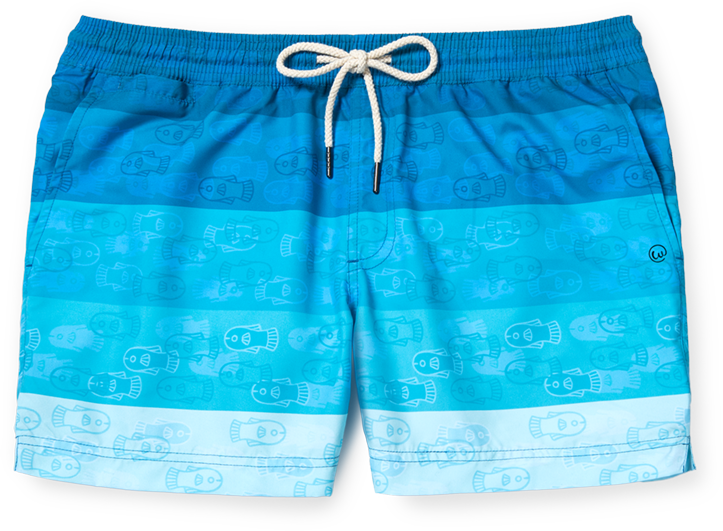 Swimsuit clipart grey shorts. Weekends at cerulean salmon