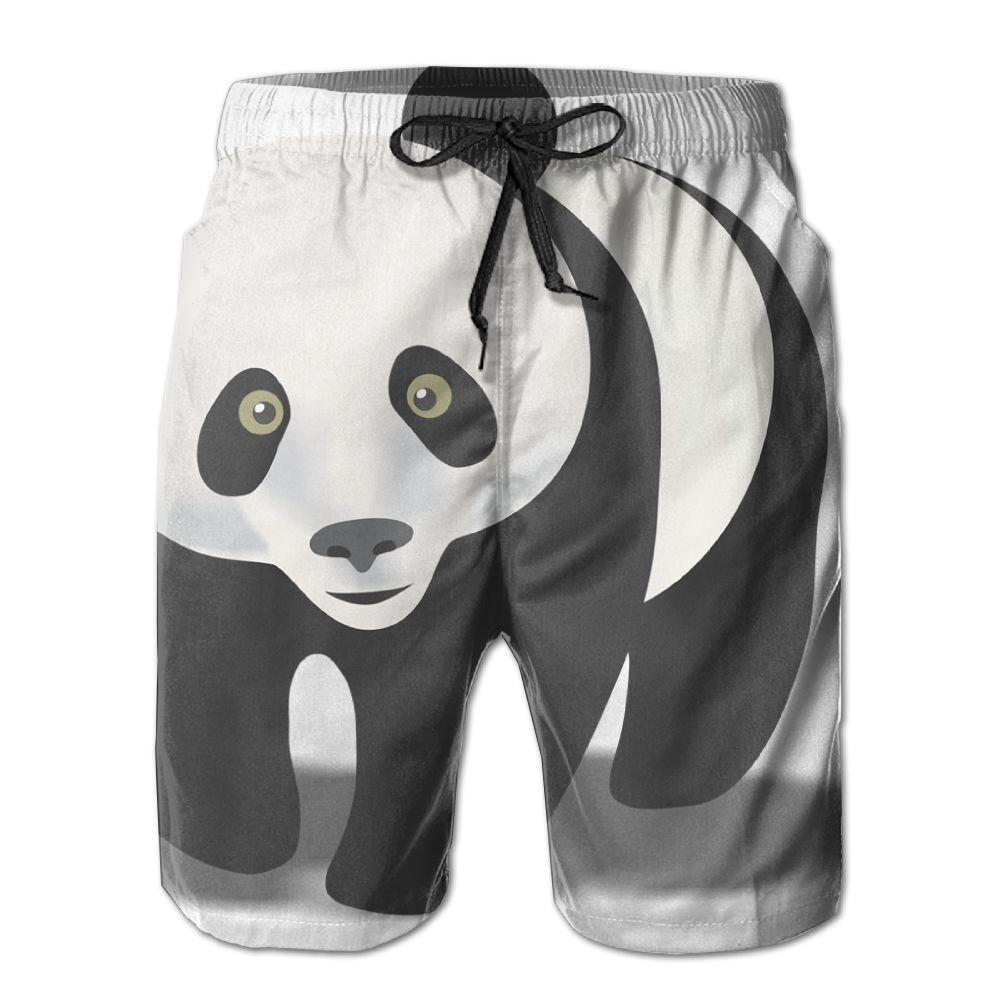 Qwetr panda clip art. Swimsuit clipart grey shorts