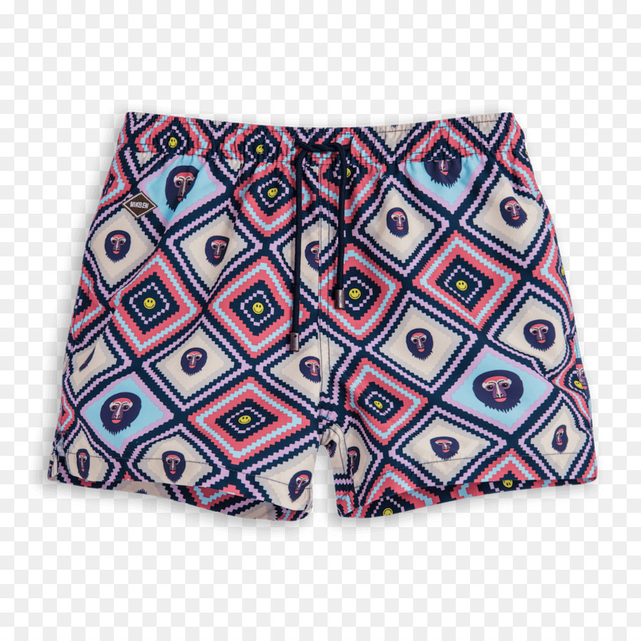 Swim cartoon clothing pants. Swimsuit clipart purple shorts