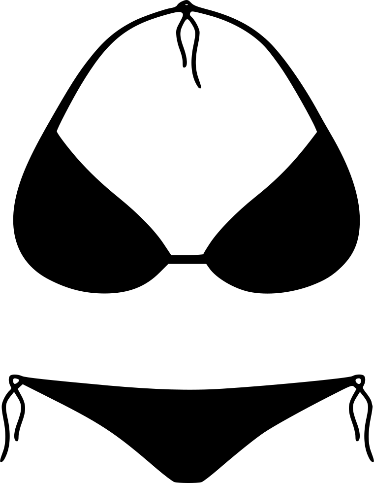 Bikini png icon free. Swimsuit clipart svg