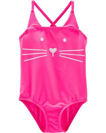 Swimsuit clipart swimming clothes. Baby girl swimwear carter