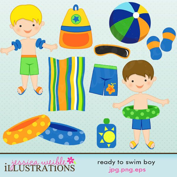 Swimsuit clipart swimming kit. Picture